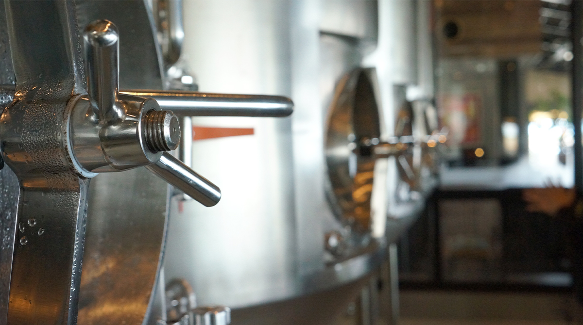 チャタンハーバーブルワリー醸造所